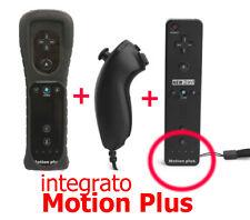 2in1 TELECOMANDO Controller+Nunchuck+motion plus Wii B