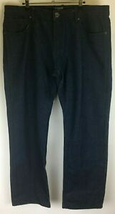 Jordan Craig 1989 Mens Straight Leg Jeans Blue Denim Size 40 x 32 100% Cotton