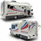 1:32 Luxury Motorhome Camper Van Model Car Diecast Kids Toy Vehicle Sound Light