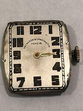 Vacheron & Constantin 1930 Geneve Tank Watch Movement - See Description!
