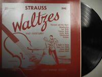 33 RPM Vinyl Strauss Waltzers And Overtures Varsity Sym Orchestra  010815SM