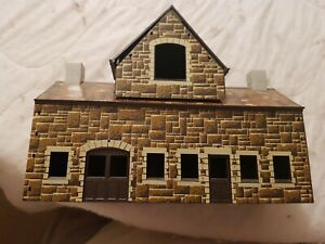 A Model Station Building in  Ho Gauge By Hornby Unboxed