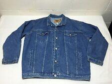 Vintage GAP Denim Jean Jacket Size XXL Made In USA Trucker