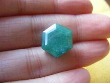 Esmeralda 11.25 Cts Certificado IGL Natural Colombia Emerald Gemstone Hexagon