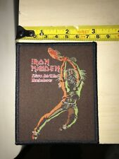 Iron Maiden patch 'Live At The Rainbow' Limited  Black