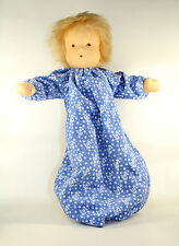 Steiff Sonderangebot Heidi Hilscher Puppen Annika brünett ca.38 cm Baumwolle kbA Wolle