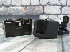 Nikon COOLPIX S1000pj 12.1 MP Digital Camera - Black - Projector Camera
