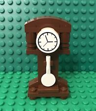 Lego New MOC Grandfather Time Clock / City Antique Home Interior
