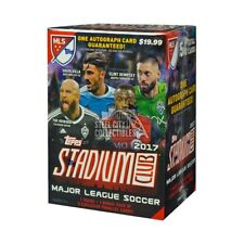 2017 Topps Stadium Club MLS Soccer 8ct Blaster Box