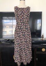 💛 Talbots Petites Summer Vintage Style Silk Dress ~ size 8 ML04