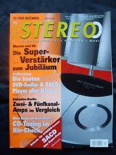 Stéréo 12/03 Marantz SC 7s1, ma 9s1, dynalab MD 208, audiaz laurea, sennheiser HD 650