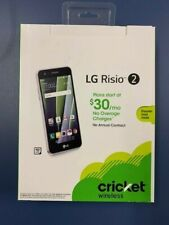 "LG Risio 2 4G LTE 5"" Screen Prepaid Cricket Smartphone"