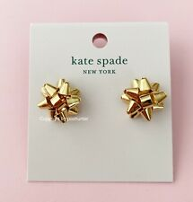 Kate Spade New York Gold Bourgeois Bow Stud Earrings