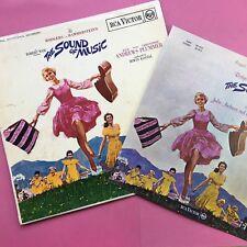 The Sound of Music - Bande Originale - RCA VICTOR rb-6616 LIVRET rb6616 EX