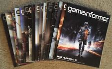 Lot Of 16 Game Informer Magazines #215-259 Average G/VG Condition