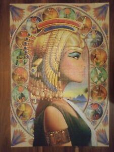 Nefretete Queen of Egypt Jigsaw Puzzle 1000 piece complete 3D Stackable & Paint