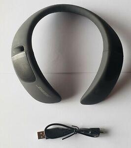 Unused Bose SoundWear Companion Wireless Wearable Speaker in Bulk Pkg - BLACK
