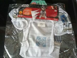 Rubies Star Wars R2D2 Dog Halloween Costume Size Small One Piece