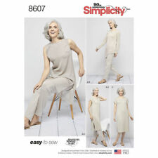 9428d1ce2 Simplicity Sewing Pattern 8607 Womens 4-26 Misses Easy to Sew Pants Tunic  Dress