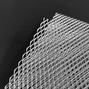 "Aluminium grille mesh NET vent car bumper grill Silver 100cm x 30 (40""x13"")"