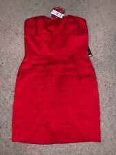 NWT New Women's Express Red Cocktail Dress size 2