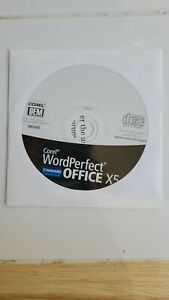 Corel WordPerfect Office X5 Standard Edition - BRAND NEW SEALED