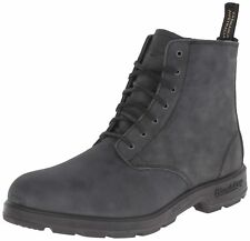 Blundstone 1451 Black Leather Unisex Lace Up Ankle Desert Boots Sizes 4-12
