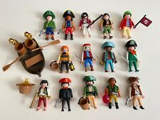 PLAYMOBIL ACTION FIGURE TOY LOT COLLECTION BUNDLE PIRATE PIRATES BOAT