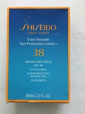 Shiseido Extra Smooth Sun Protection Cream SPF38 for Face - New In Box
