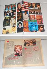 Album DOLLY ALBUM ROCKSTAR SHOW Figurine 1987 COMPLETO Stickers Madonna Pooh
