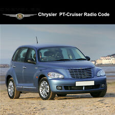 Chrysler PT Cruiser Radio Codes Stereo Codes Pin  Unlock Code Fast Service