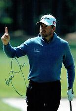 Graeme McDOWELL SIGNED AUTOGRAPH 12x8 Photo AFTAL COA Northern Ireland Golfer