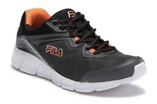 FILA MEMORY VERNATO TRAINER SPORTS SNEAKERS MEN SHOES CHARCOAL/BLACK SIZE 13 NEW