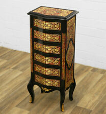 COMMODE A TIROIRS EN MARQUETERIE BOULLE STYLE NAPOLEON III SECOND EMPIRE