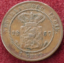 Netherlands East Indies 1 Cent 1857 (C1212)