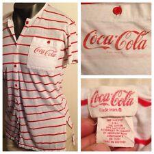 Vintage COCA-COLA Advertising RARE BASEBALL UNIFORM Jersey Shirt Men L-XL Fit