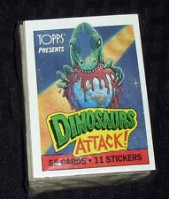 1988 VINTAGE TOPPS DINOSAURS ATTACKS CARD SET (1-55) MINT CONDITION!!M