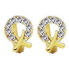 or 18 carats plaqué femmes ou fille cercle petit anneaux Boucles d'oreilles