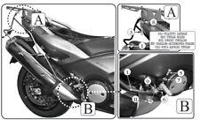 Telaietti Laterali GIVI T2013 per Borse Morbide Yamaha T-Max TMax T Max 530 2015