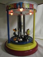 LOONEY TUNES Sylvester, Bugs, Tweety, Daffy, Taz Spinning LAMP & Night Light EUC