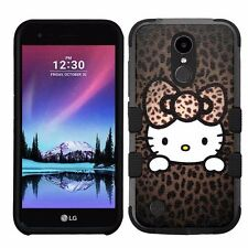 for LG K20 Plus/LG V5 Impact Armor Rugged Hybrid Case Hello Kitty #H
