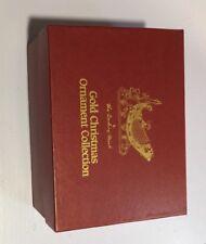 Danbury Mint 2000 98 95 96 , Gold Christmas Ornament Collection Set Of 13 Snow