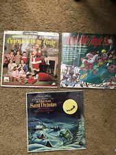 3-Christmas Records Vinyl Lot