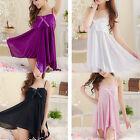 Women Hot Sexy Lingerie Set Underwear Babydoll Dress Sleepwear Chemise G-string