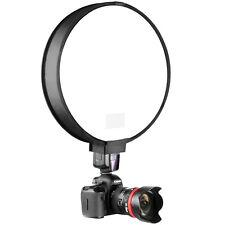 """16"""" 40CM Round Disc Softbox Flash Diffuser for Camera Flash Speedlite Speedlight"""