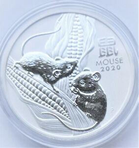 Lunar III Maus 2020 Silber 1 Oz Australien