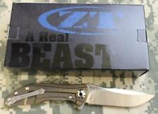 Zero Tolerance 0609 RJ Martin Titanium Scales CPM 20CV Blade KVT Bearings NEW