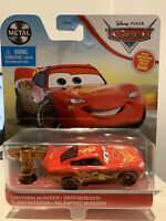 Disney Pixar Cars Lightning McQueen with Piston Cup Official Disney Diecast Cars