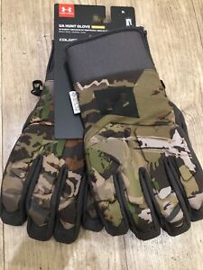 [1318575-940] Mens Under Armour Mid Season Windstopper Hunt Gloves Size- X-Large