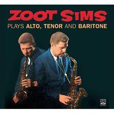 Zoot Sims PLAYS ALTO, TENOR & BARITONE